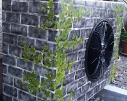 Wärmepumpen-Aussenkasten mit Airbrush by Andy Humm