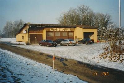Erstes Firmengebäude