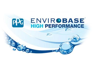 PPG Logo im Wasserlook