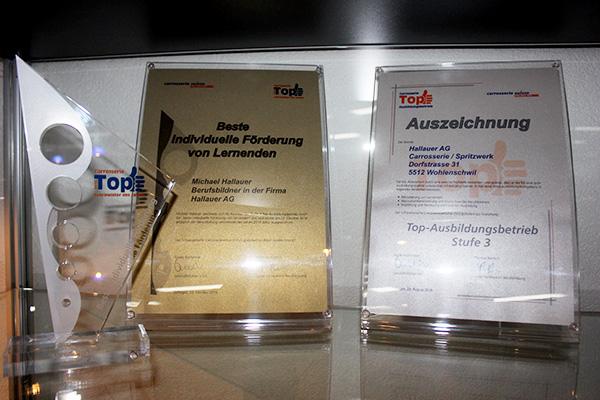 Zertifikate Hallauer AG & Spritzwerk Hallauer