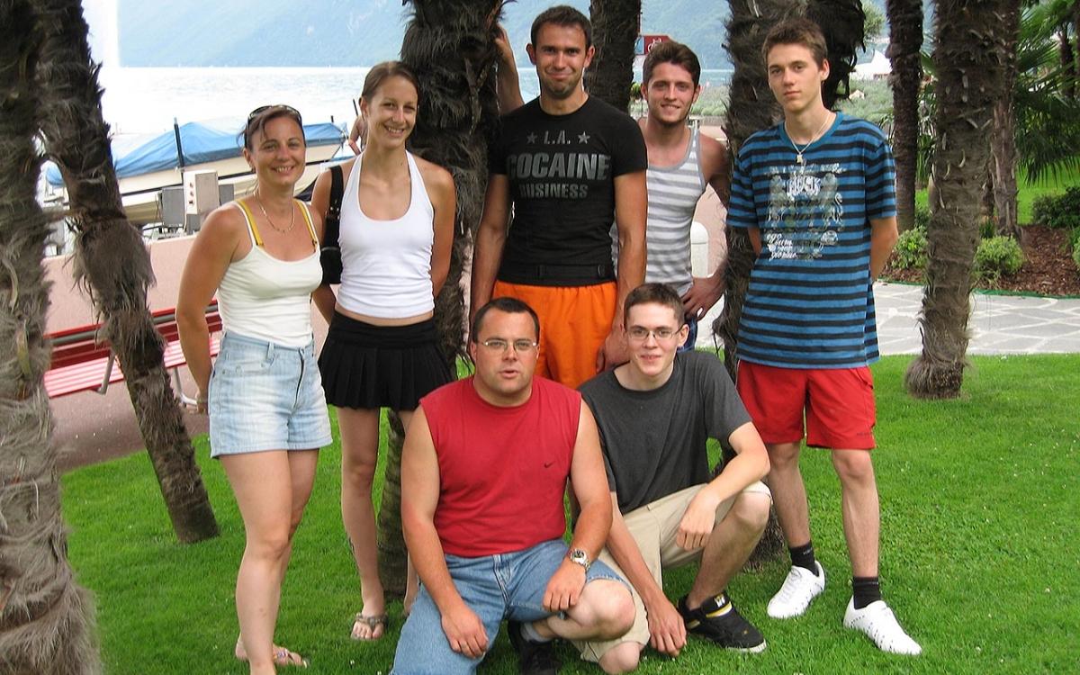 Gruppenfoto vom Jubiläumsausflug 10 Jahre Hallauer