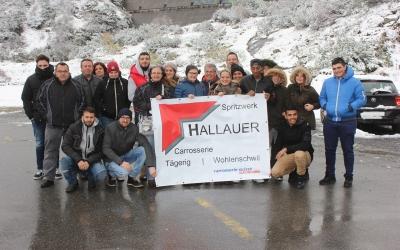 Gruppenfoto Jubiläumsausflug 20 Jahre Hallauer
