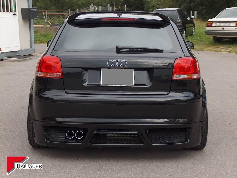 Audi A3 Heckschürze