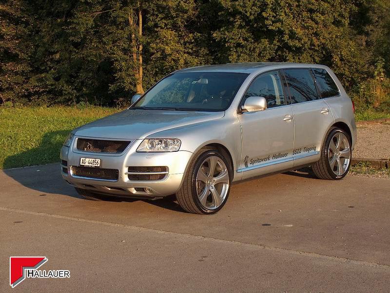 VW Touareg V10 Felgen Frontspoiler