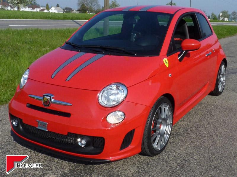Fiat 500 Editione Ferrari