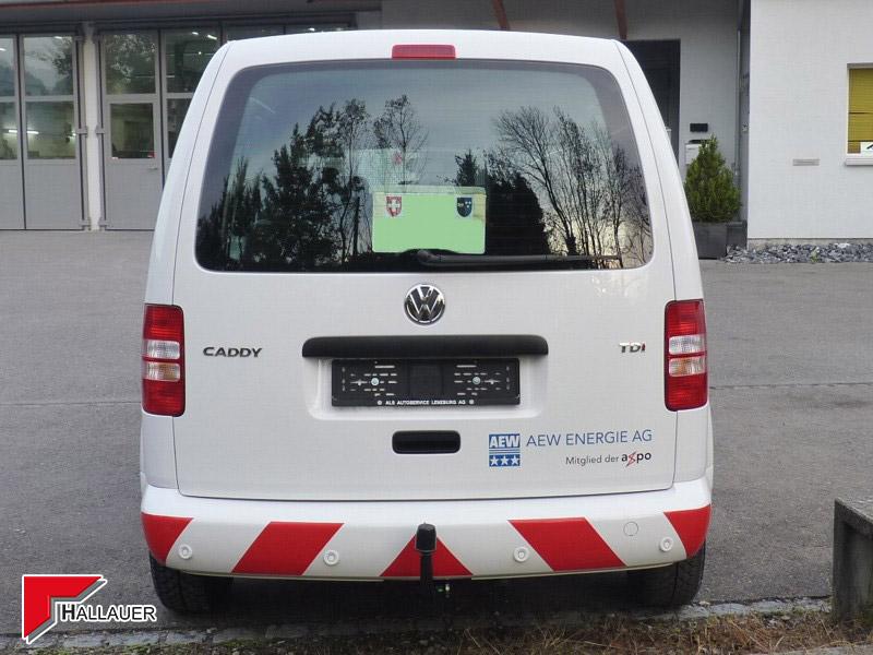 VW Caddy Stossfängerlackierung