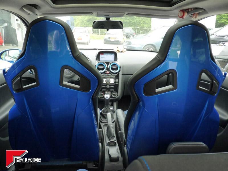 Corsa OPC Sitzrücken