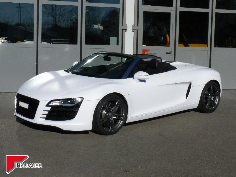 Audi R8 foliert