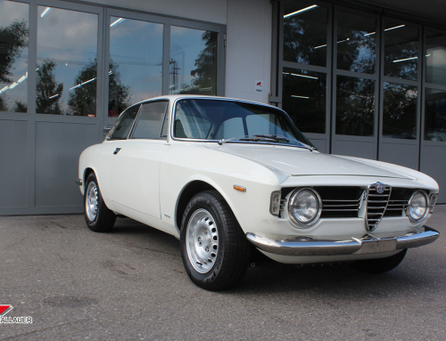 Restauration Alfa Romeo GTV
