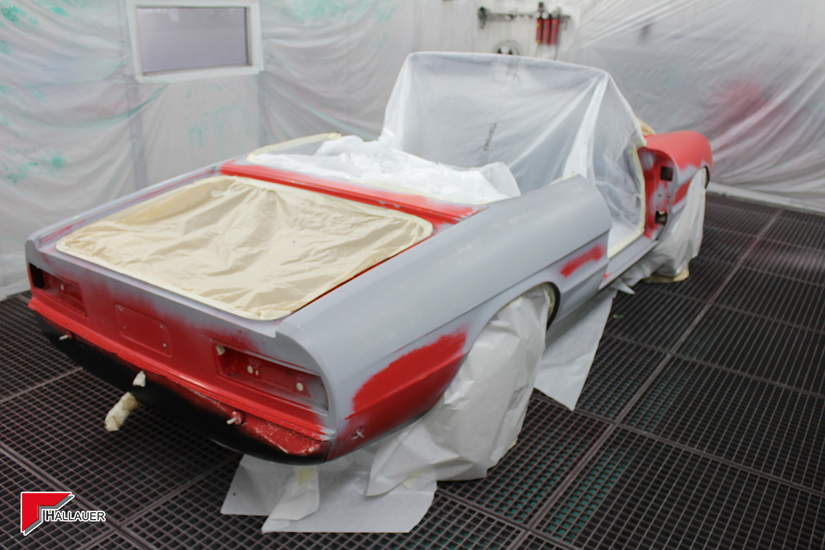 Restauration Alfa Romeo Spider