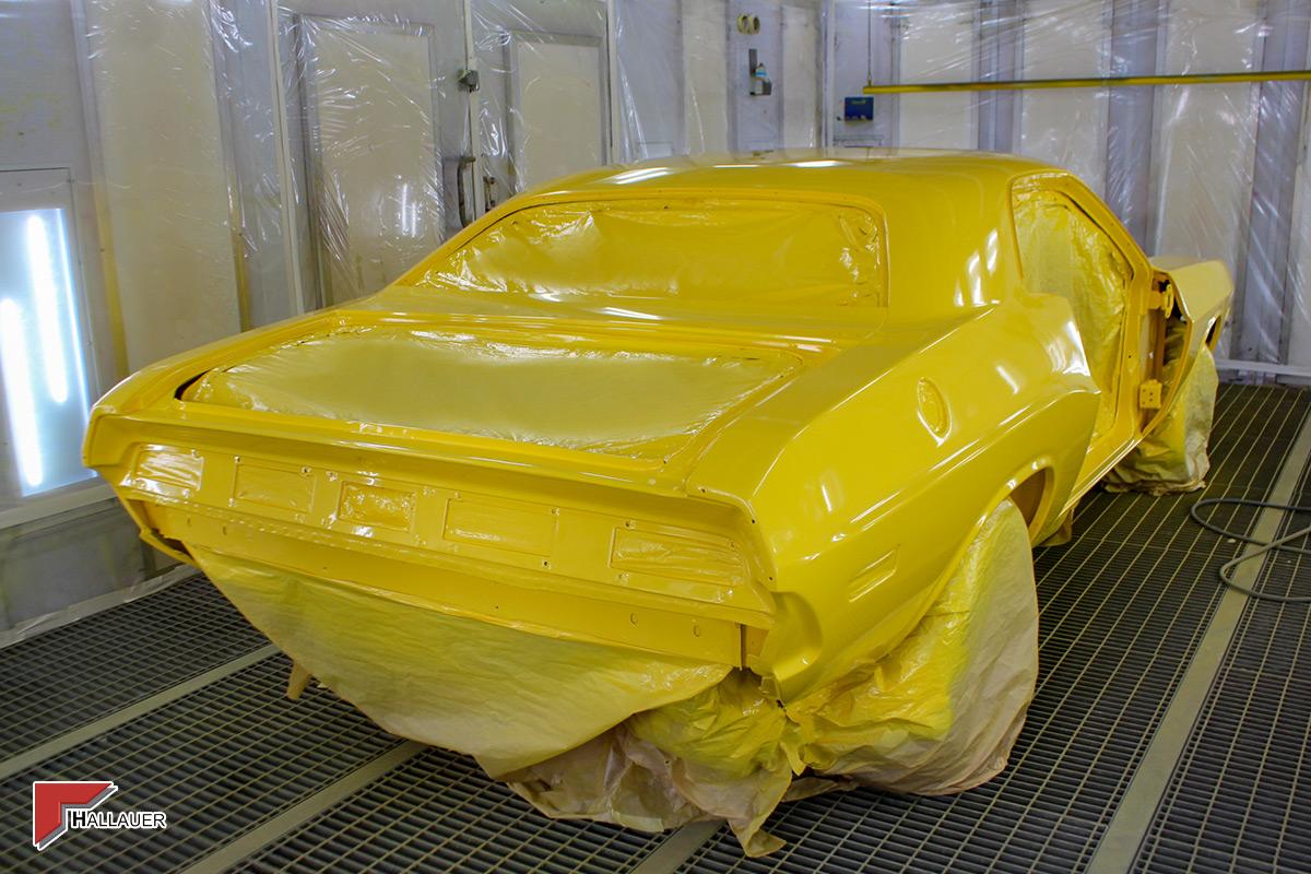 Restauration Dodge Challenger