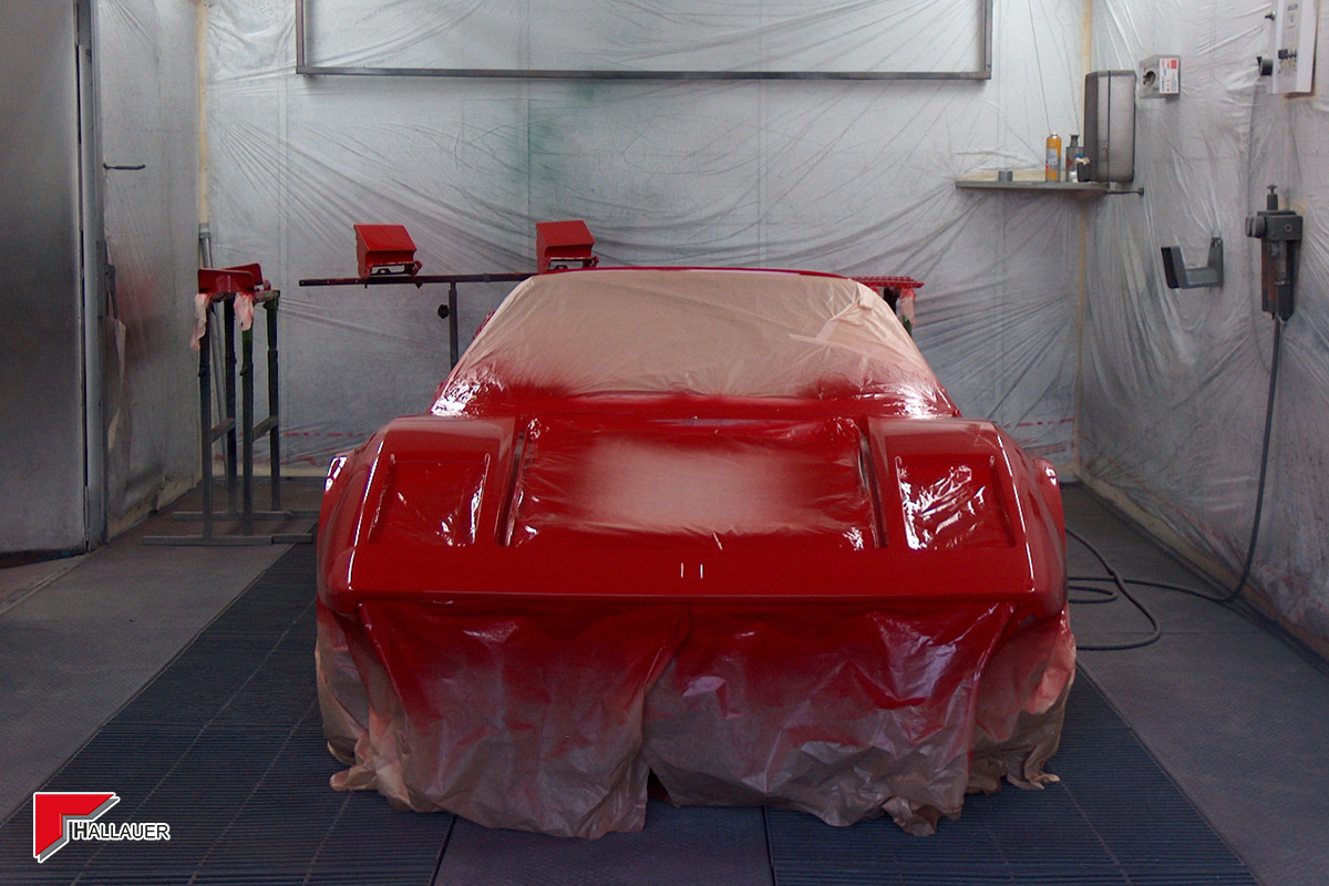 Restauration Ferrari 308