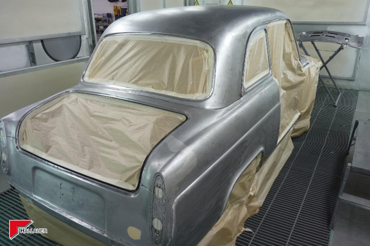 Restauration Ford Anglia