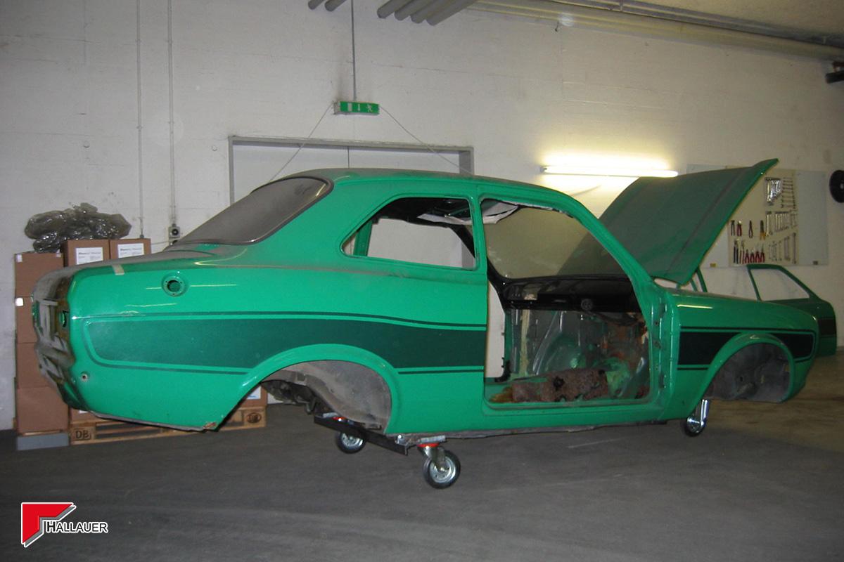 Restauration Ford Escort RS-2