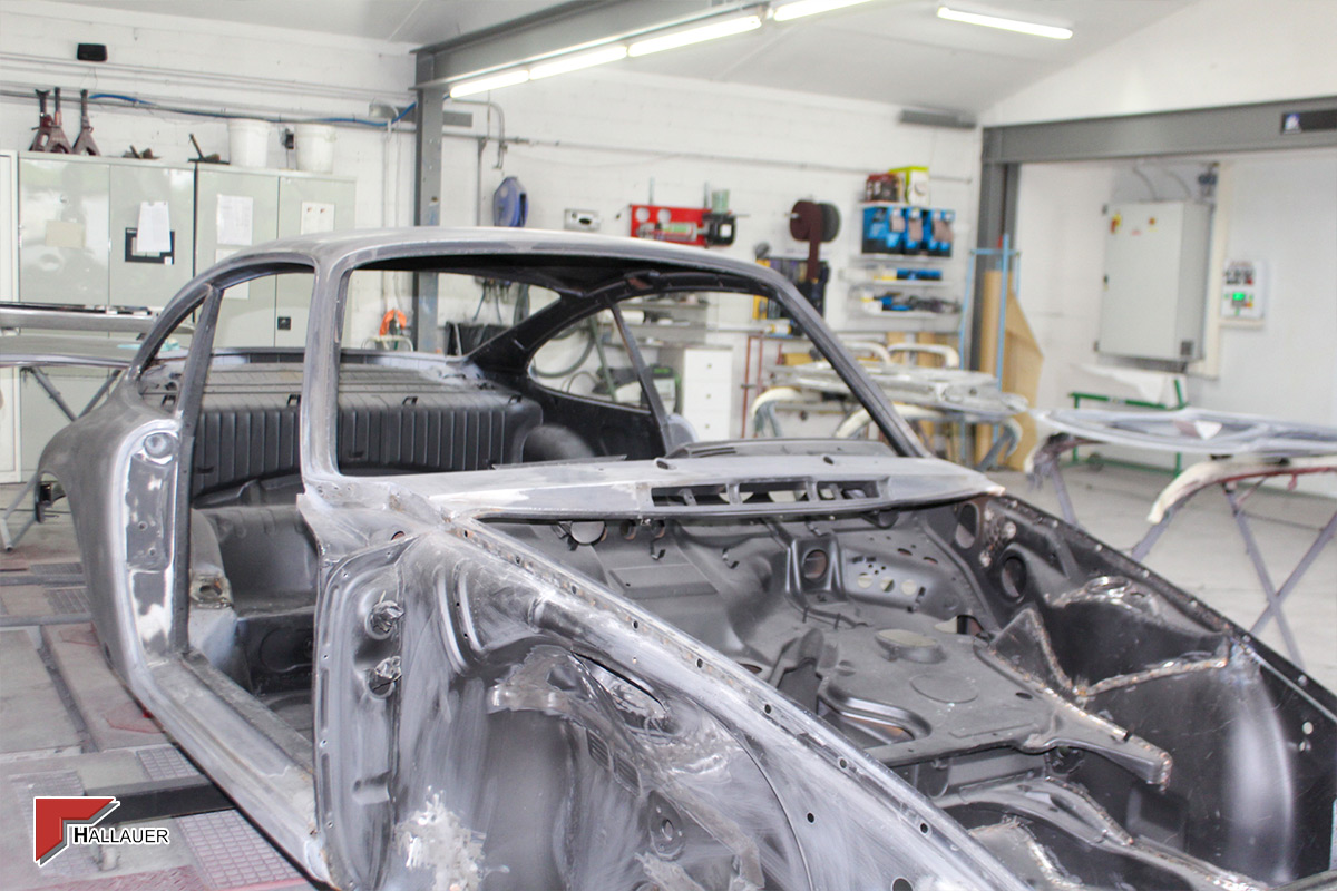 Restauration Porsche 911