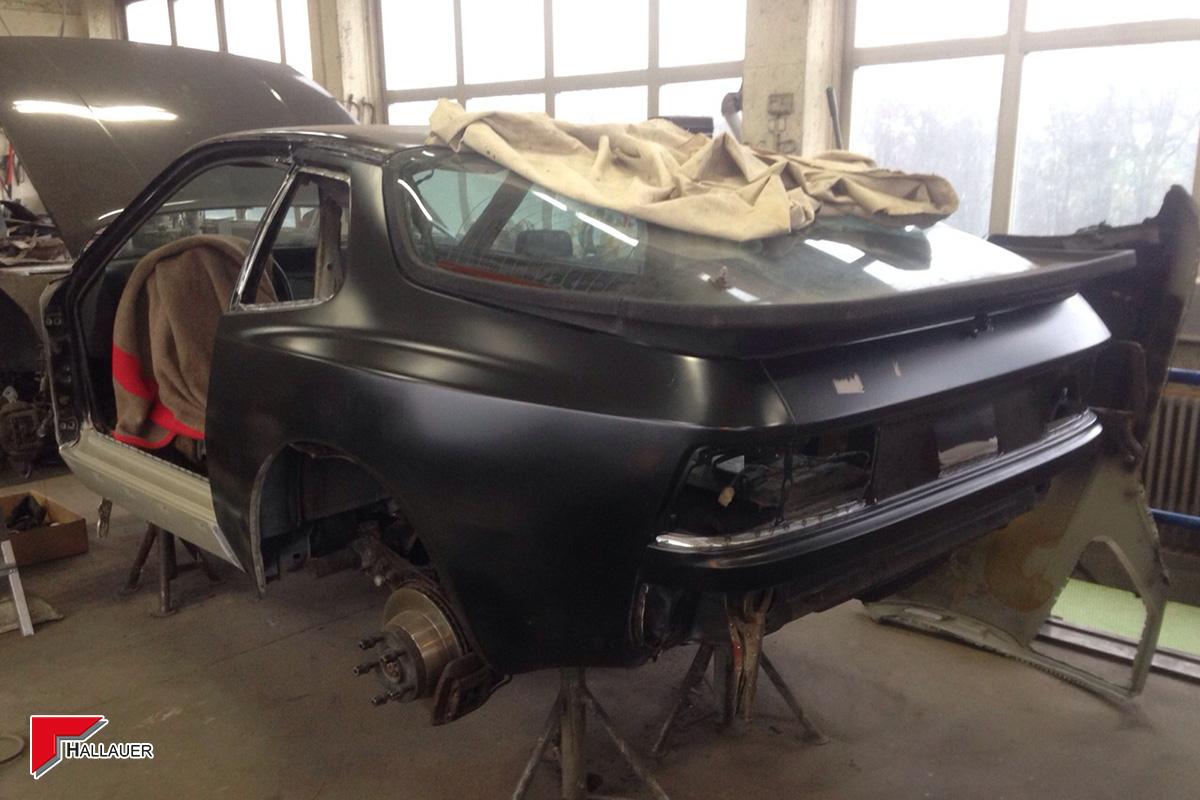 Restauration Porsche 944