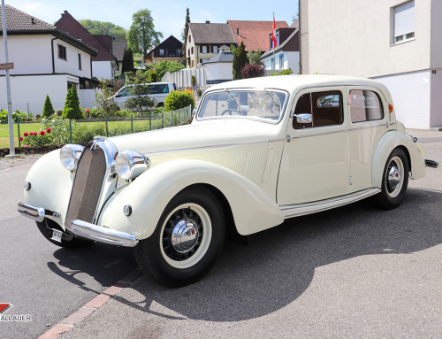 Restauration Talbot Major T23 1939