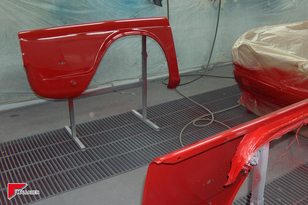 Restauration Triumph TR-5
